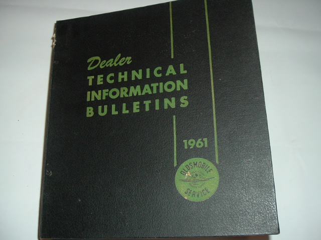 1961 Oldsmobile Dealer Technical Bulletin Set (a 6061oldstechset)