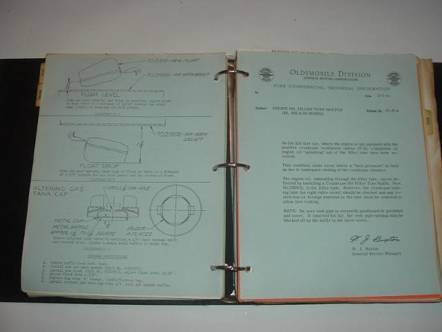 1961 Oldsmobile Dealer Technical Bulletin Set (a 6061oldstechset)