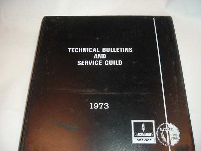 1973 Oldsmobile Service Guild Training Manual Set (a 73oldsset)