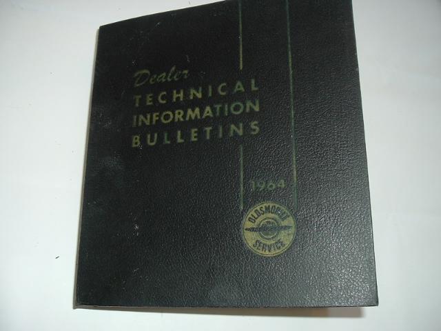 1964 Oldsmobile Service & Technical Bulletins Set (A 1964OLDSET)