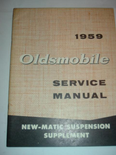 1959 Oldsmobile Pneumatic Suspension Service Manaul (a 59oldspneumatic)