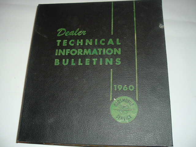 1960 Oldsmobile Dealer Technical Bulletin Set (A 60oldstechset)