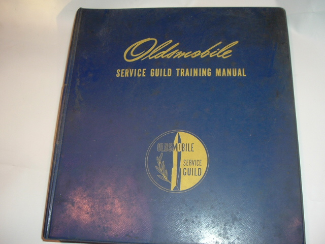 1964-66 Oldsmobile Service Guild Training Manual Set (a 66oldsset)