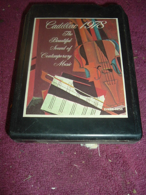 1978 Cadillac Promo 8 track tape (A 1978Cad8trk)