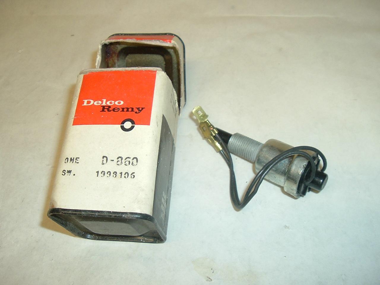 1956- 57 Chevrolet & Pontiac NOS stop lamp switch (A 1998106)