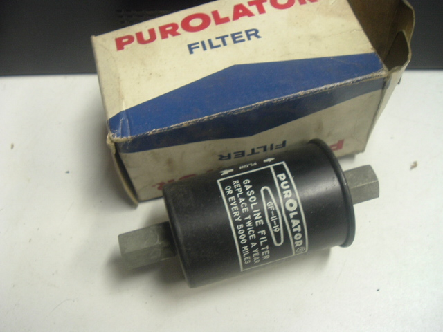 1965 Corvette,Chevelle 396 fuel filter (A 11-19)