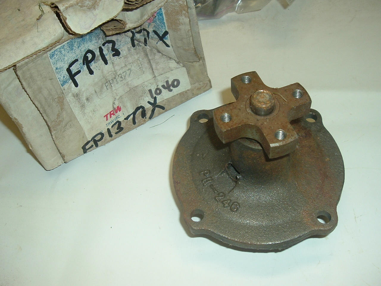 View Product1958 59 60 61 62 -72 Chrysler dodge Desoto NEW water pump (A 1377x trw new)