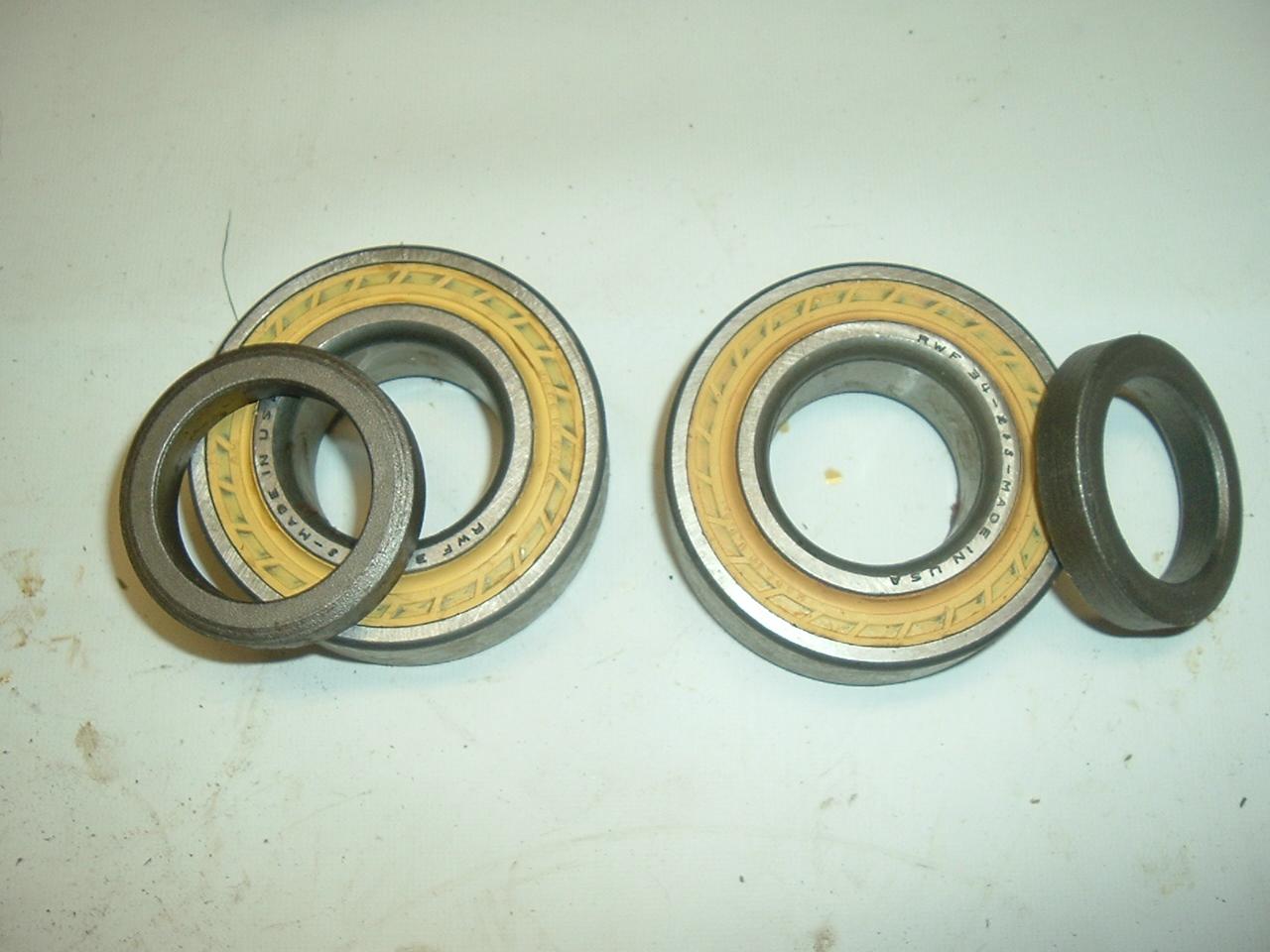 1960 -66 PLymouth Valiant dodge dart rear wheel bearings pair (a rwf34r s9205)