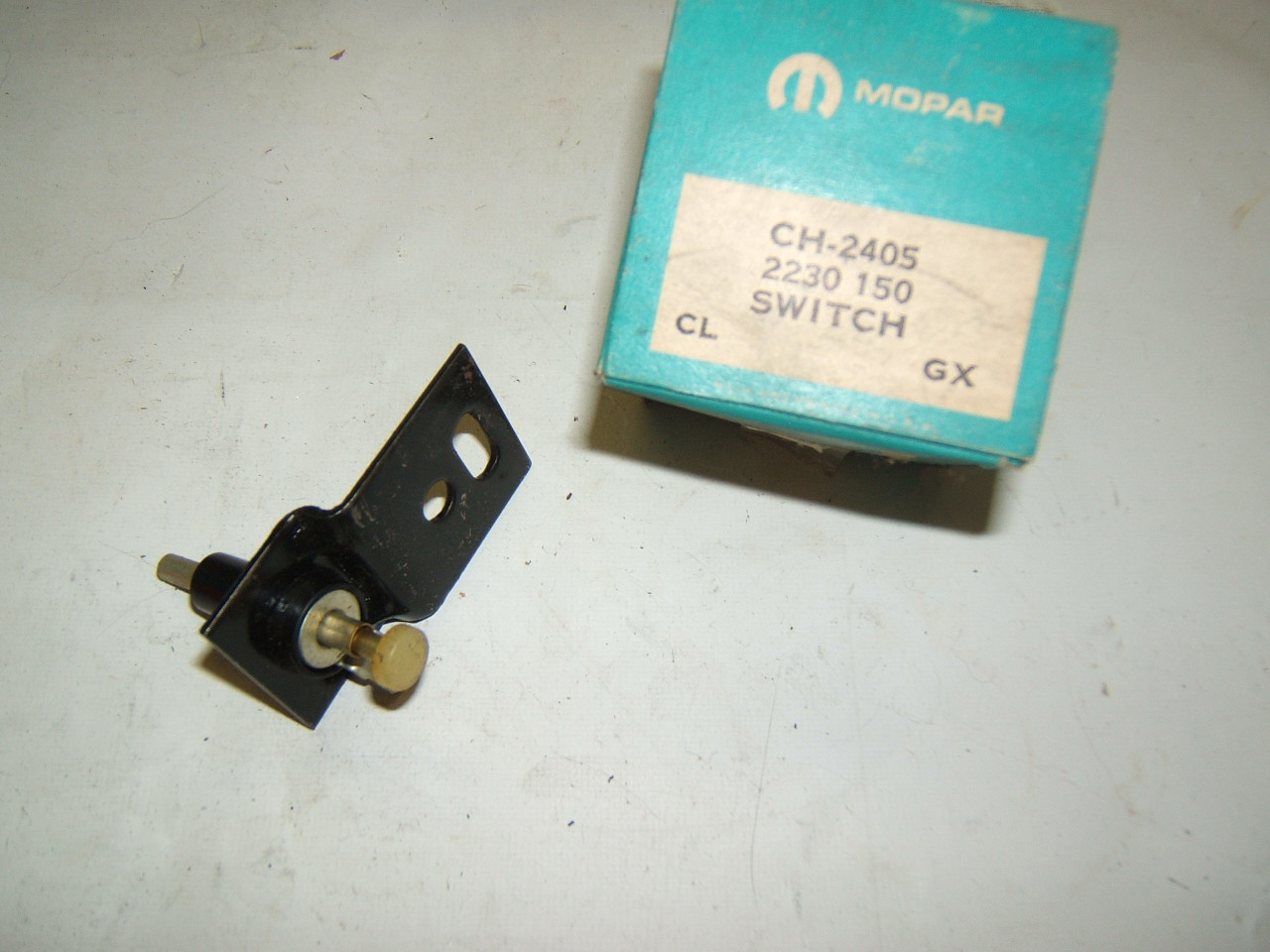 1962 - 69 Dodge truck stoplamp switch nos 2230150 (a ch2405)