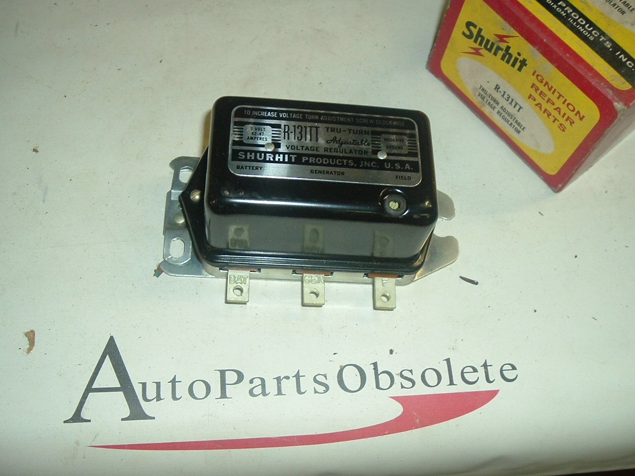 1949 50 51 52 53 54 Chevrolet Cadillac Buick Adjustable voltage regulator (a r131tt)
