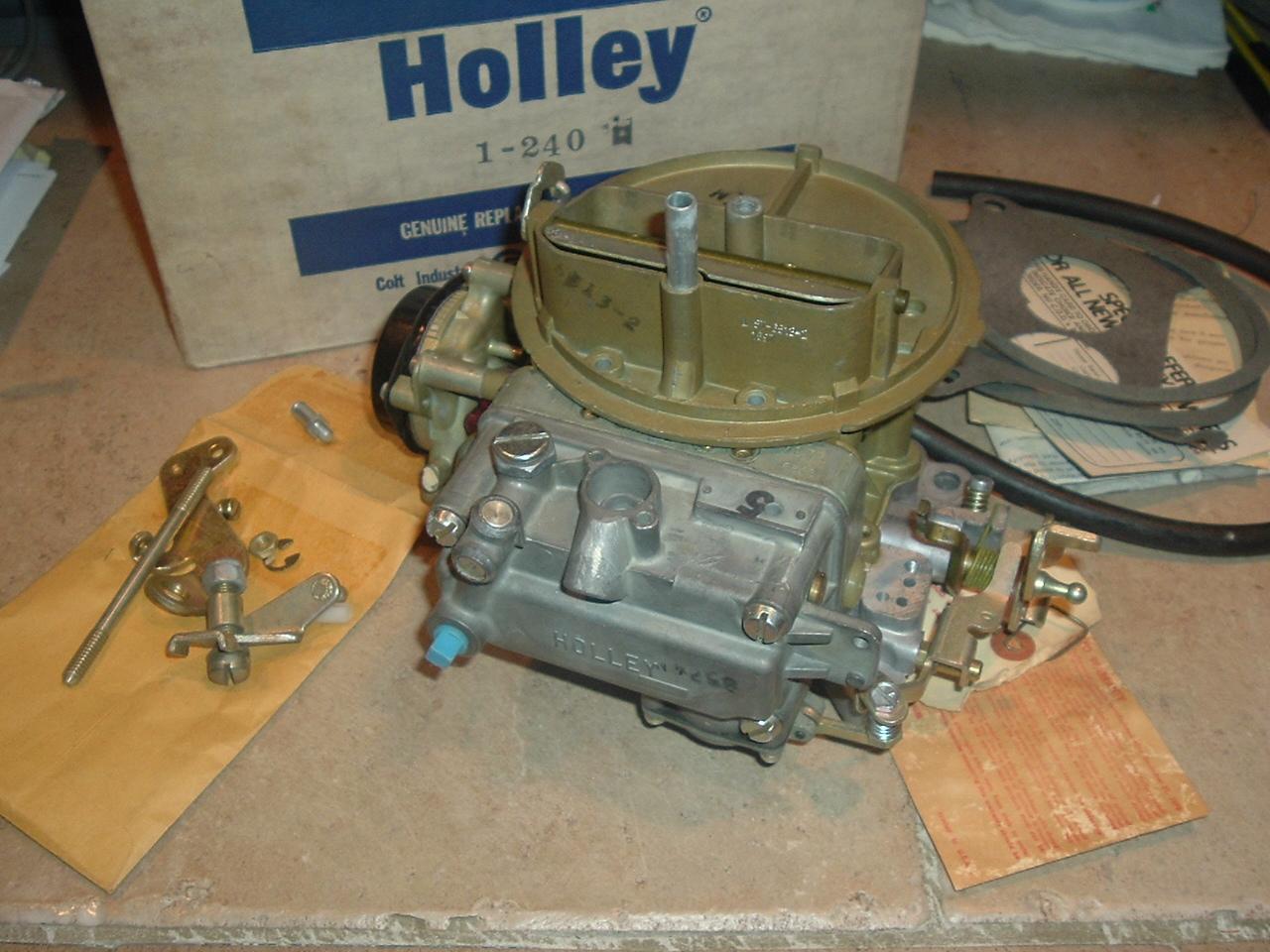 1971- 72 Amc Javelin Hornet Ambassador 304 360 new holley carburetor (a 1-240)