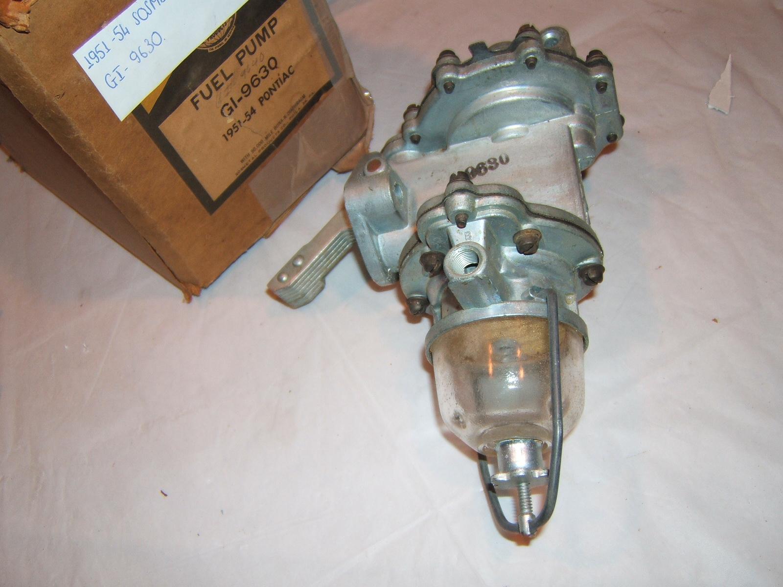 1951 52 53 54 Pontiac Double action fuel pump #9630 (a 9630w sosmetal)