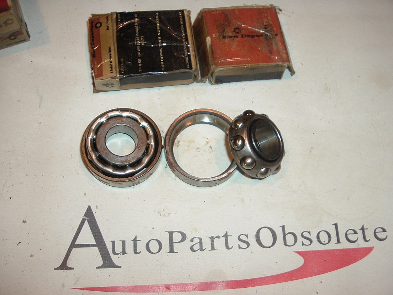 1955 Chevrolet Outer wheel bearings PAIR Delco GM 909041 (a 909041delco)