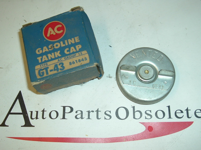 1961 Oldsmobile AC brand gas cap 861843 (a gt43 861843)