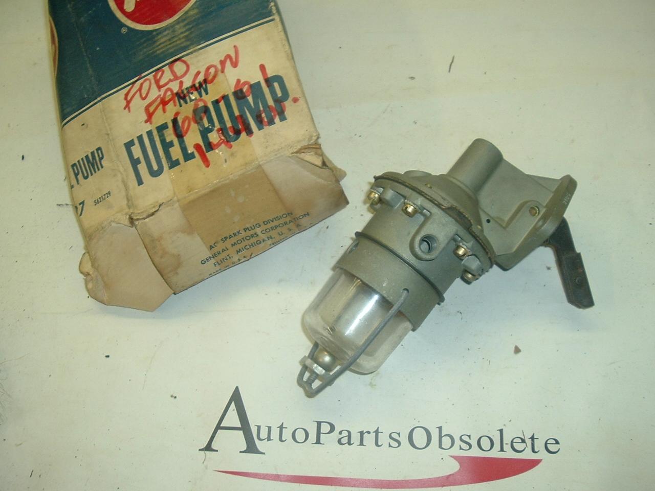 1960 1961 Falcon & Comet fuel pump nos ac 4897 (a 4897ac)
