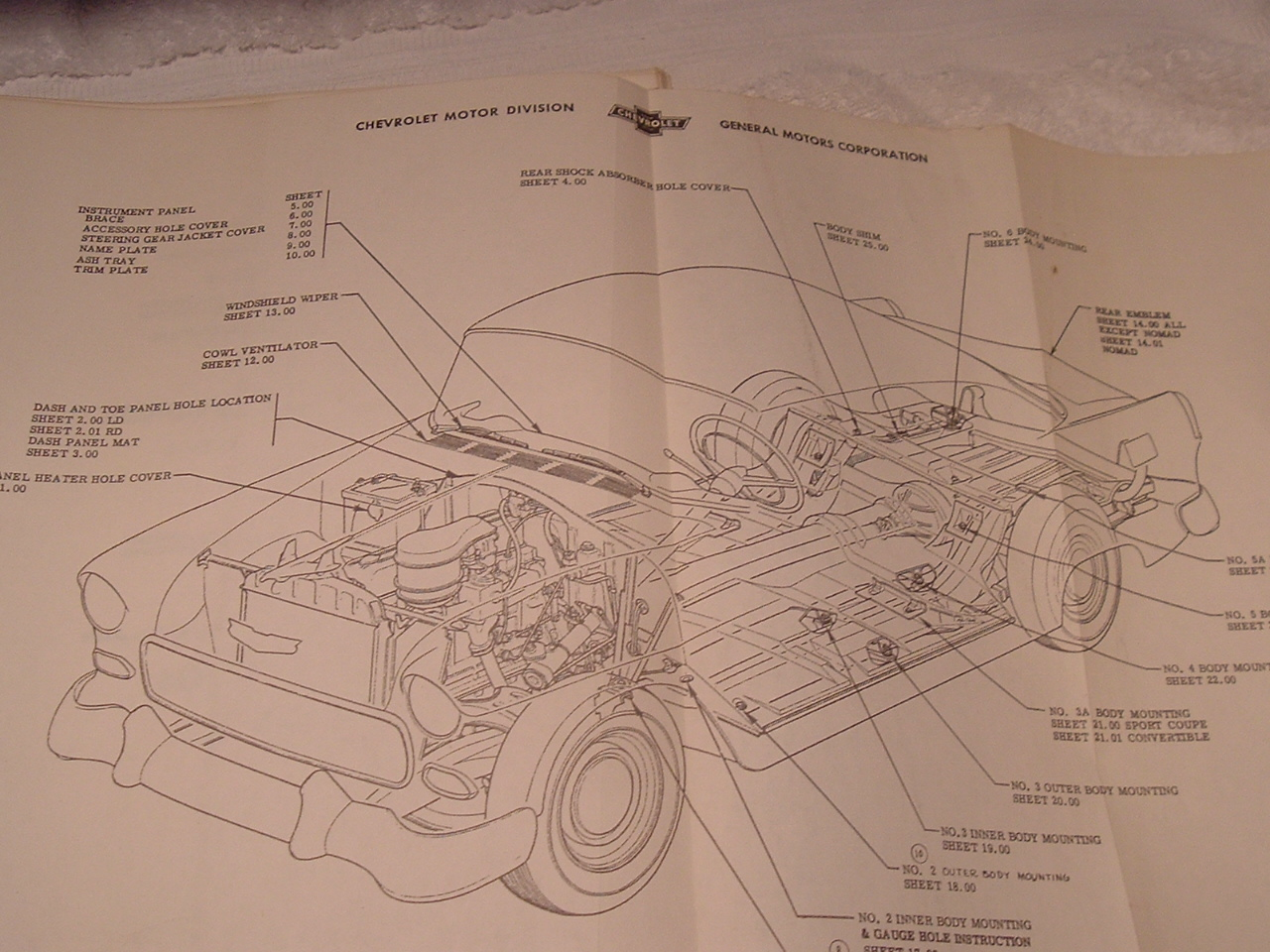 1955 Chevrolet assembly manual (a 55 chev asm man)