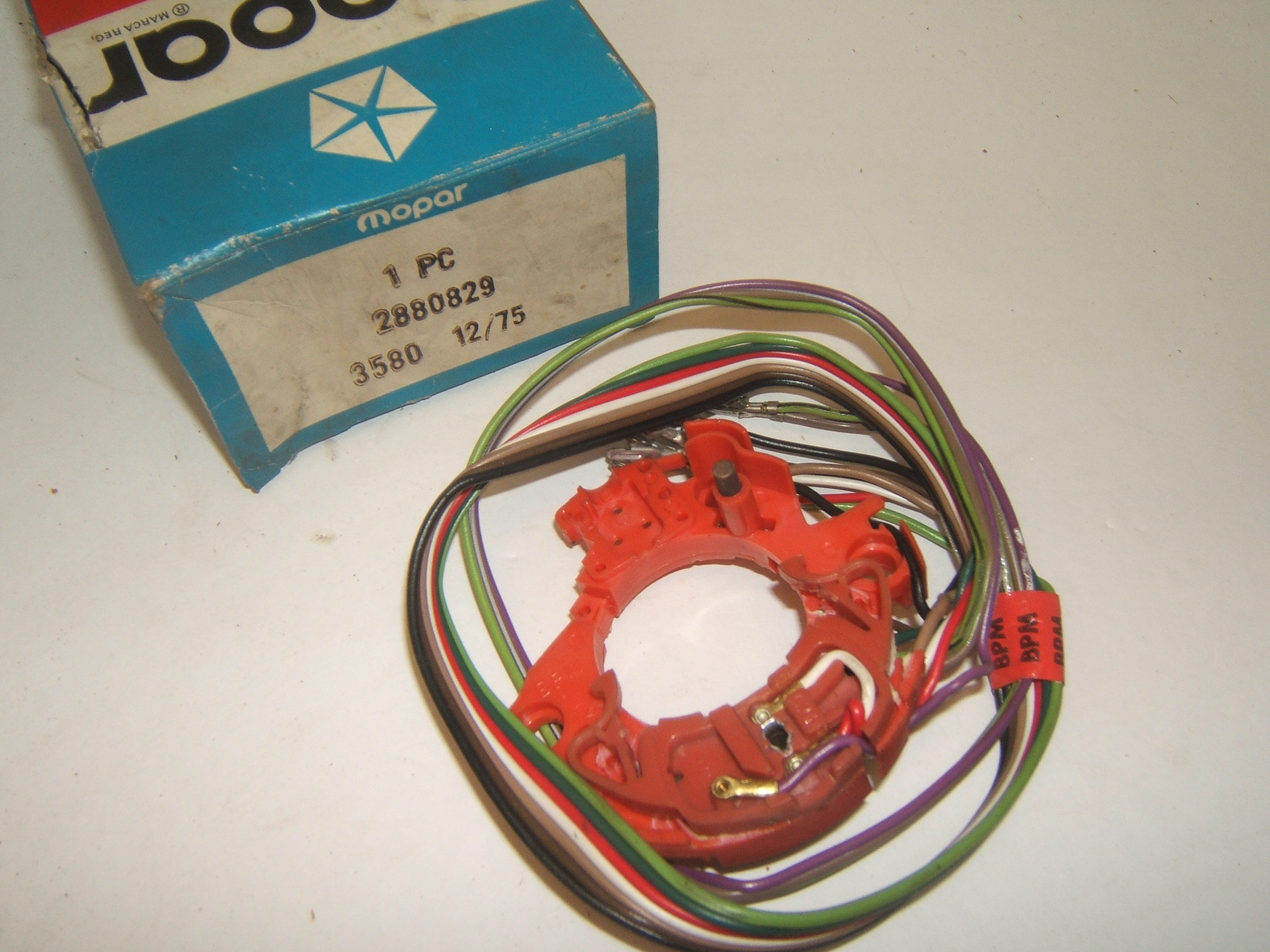 1967 68 69 Chrysler Plymouth Fury Dodge Polara Turn Signal Switch NOS 2880829 (a 2880829)