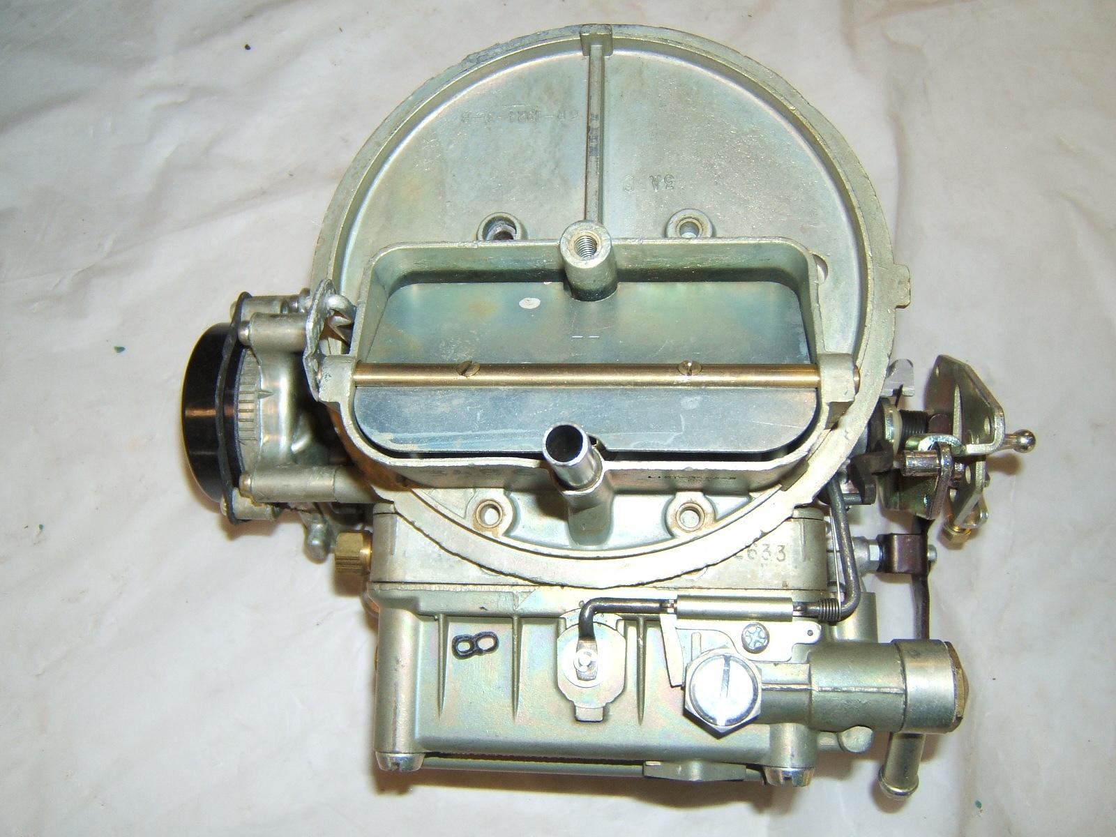 1965 Ford Galaxie carburetor new holley R3486 (A 1-52 R3486)