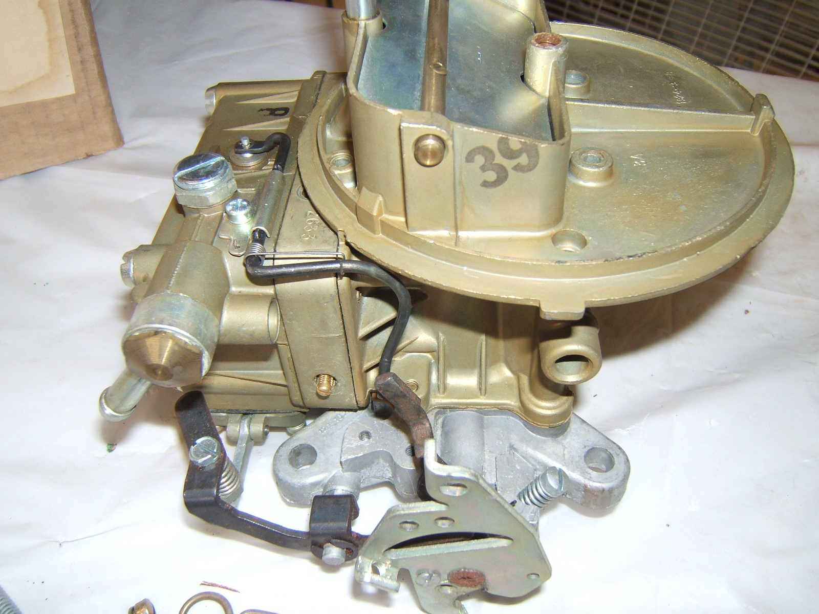 1965 66 67 Ford Mustang Fairlane Galaxie carburetor new holley R3485 (A 1-51 R3485)