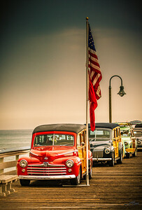 Woodies on the Pier