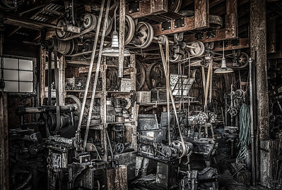 Vintage Machine Shop