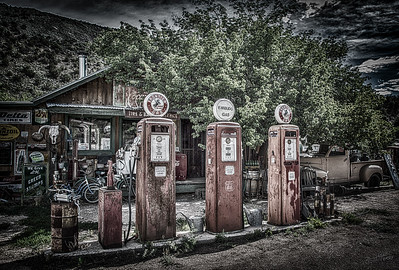 Embudo Gas Museum Colorized