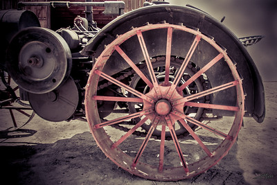 Wheel 1909 International Harvester 2