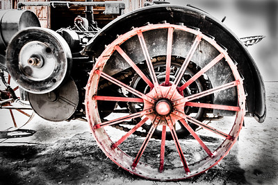 Wheel 1909 International Harvester 2-2