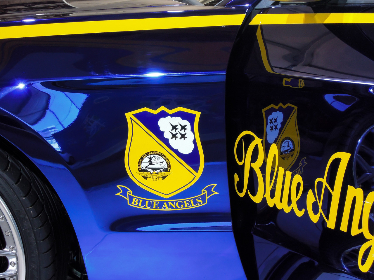 Blue Angels Ford Mustang