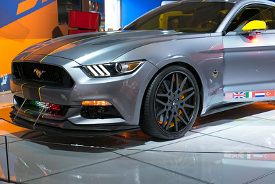 Ford Mustang F-35 Front