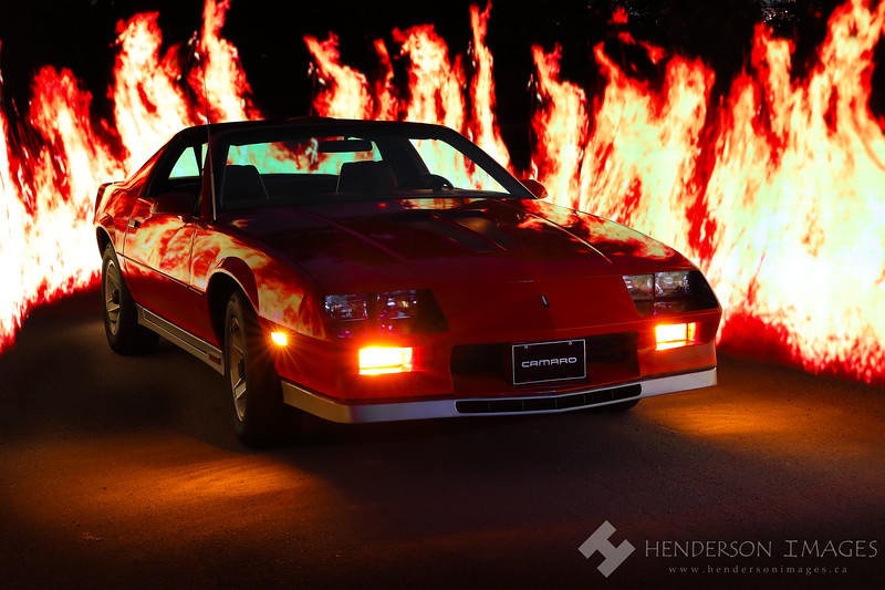 1983 Z28 with Flames