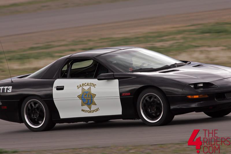 sarcastic motorcsports police car reno fernley raceway