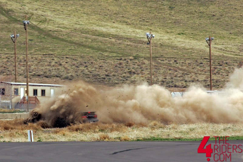 camero spin out reno fernley raceway