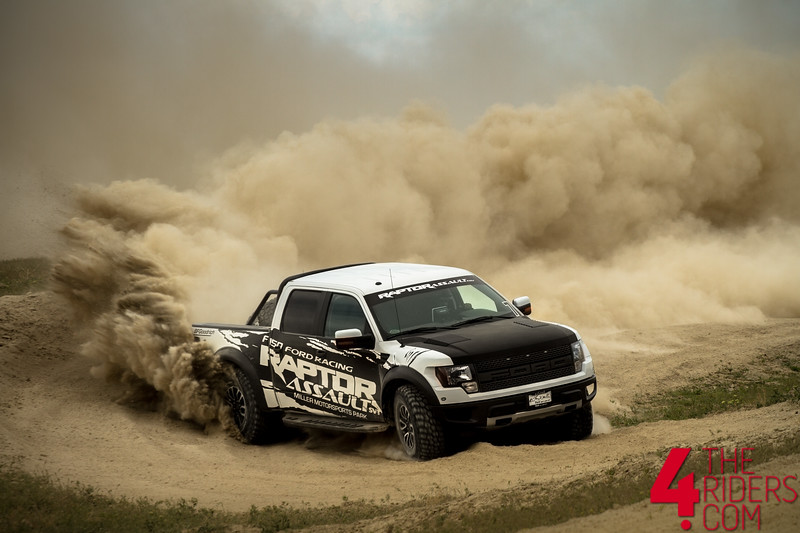 raptor assault ford f150 spray dirt
