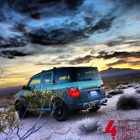 honda element mojave desert