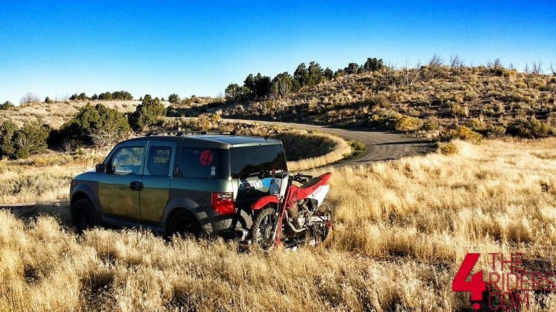 versa hauler dirtbike carrier