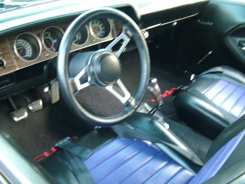 1970 Plymouth Baracuda - interior
