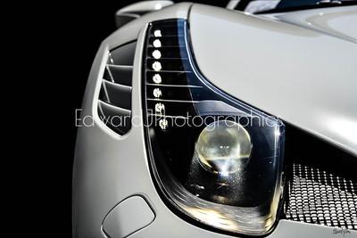 2018 Ferrari Headlight  (Silhouette )
