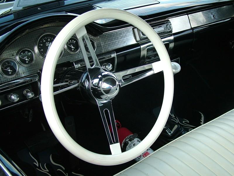 dash 57 Ford Fairlane 500