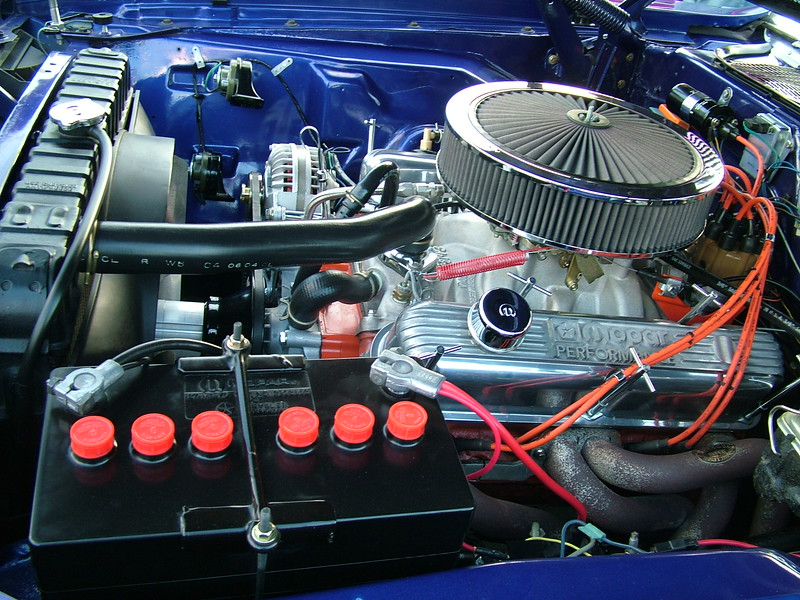 1970 Plymouth Baracuda - motor