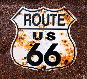 Route 66 Door Sign...