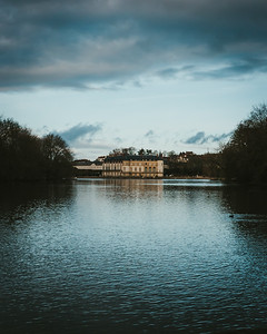 Ciel menaçant sur le Chateau de Rambouillet