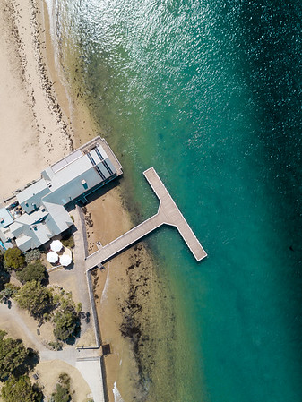 Boathouse and jetty
