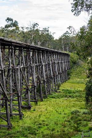 Old rail bridge
