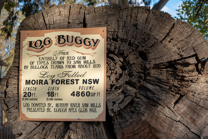 Log buggy