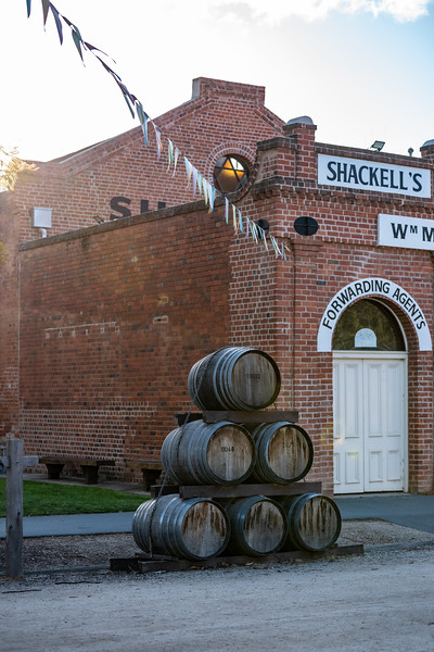 Bunch of barrels