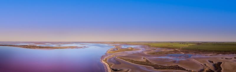 Lake Tyrrell panorama