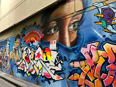 Graffiti in Beanley Lane