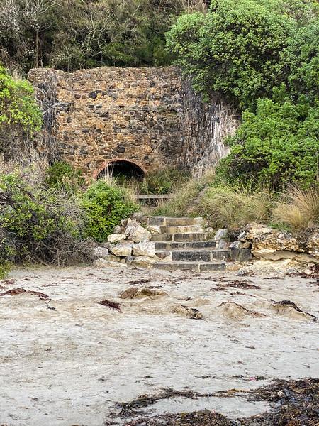 Ruins on the beach