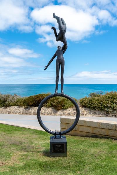 Seaside sculture